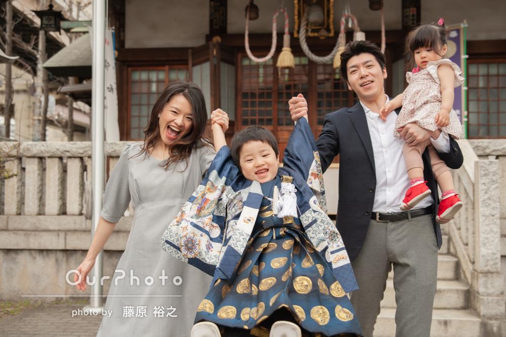 「次の節目の家族写真もお願いしたい」5歳七五三の撮影