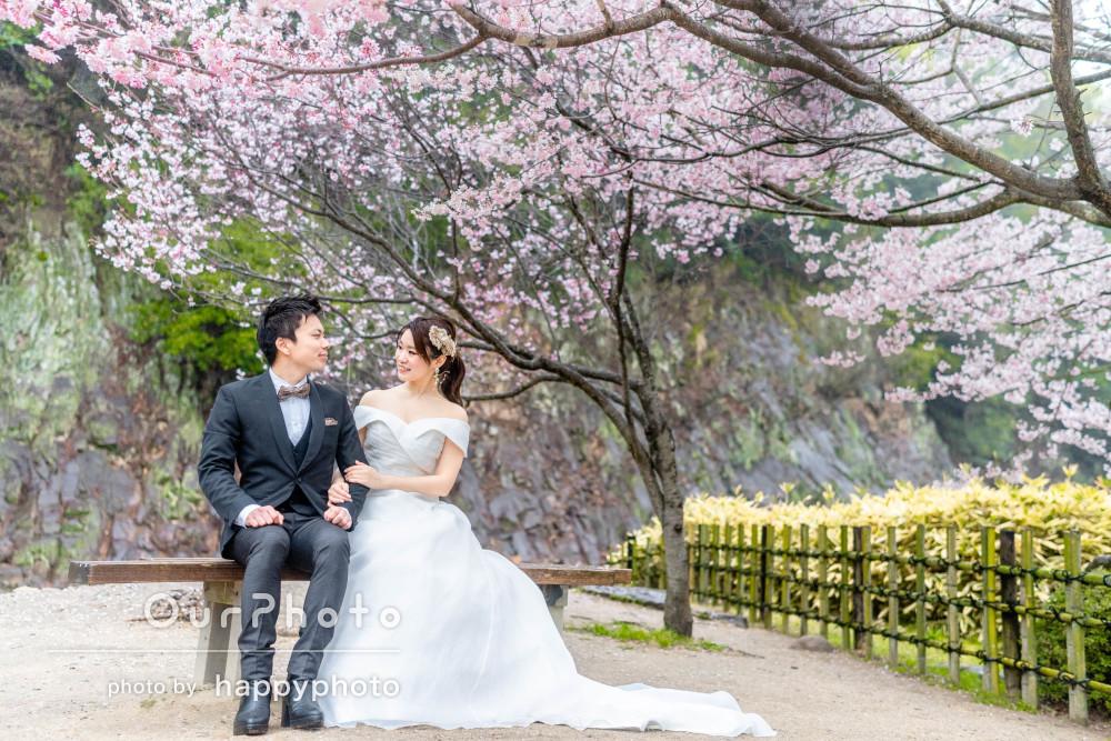 「素敵な時間と写真をありがとう」華麗なドレスでカップル写真撮影