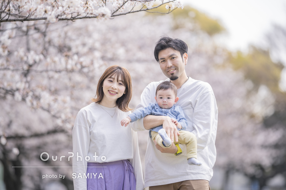 「想像以上にたくさん素敵な写真を撮って頂けました」家族写真の撮影
