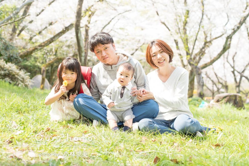 「子どもへの配慮気配りが素晴らしいカメラマンさん」家族写真の撮影