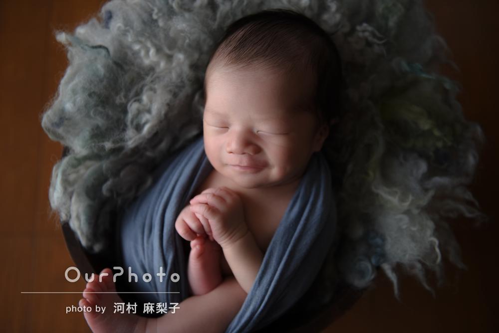 「今しか撮れない素敵な写真」笑顔の1枚も!ニューボーンフォトの撮影