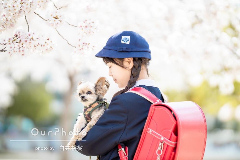 「イメージ通りに撮っていただき大満足」愛犬と記念の家族写真の撮影