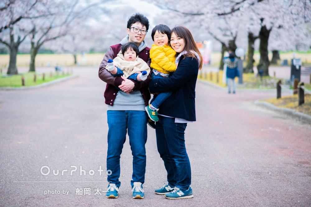 「ニコニコしている写真が沢山」お子様のありのままを映したご家族の撮影