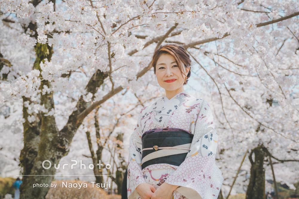 「和やか・穏やかなお人柄が溢れて」女性プロフィール写真の撮影