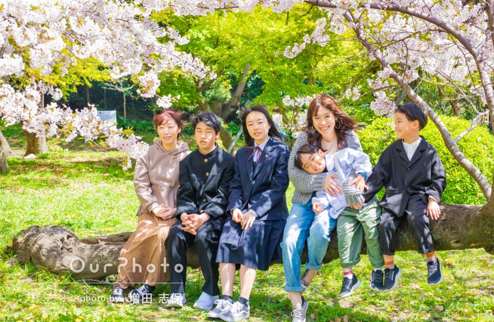 「自然な表情」に大満足!従兄弟の成長を映したリピーターご家族の撮影
