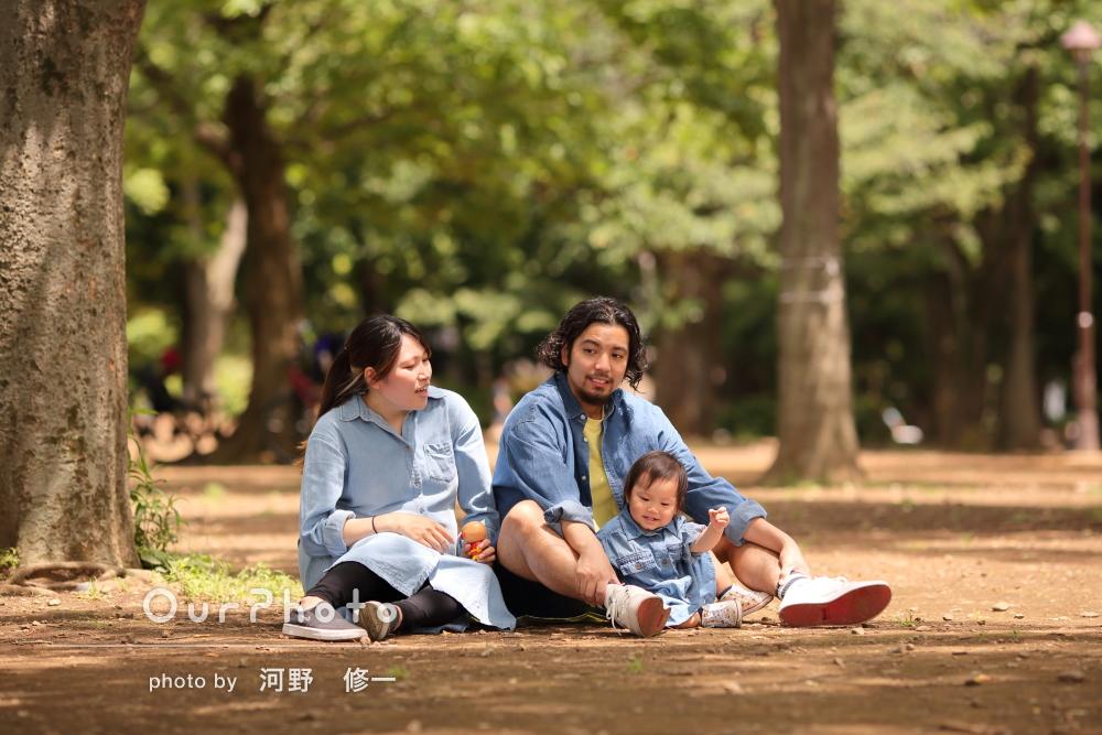 「希望通りに撮影して頂きほんとに感謝」和やかな家族写真の撮影
