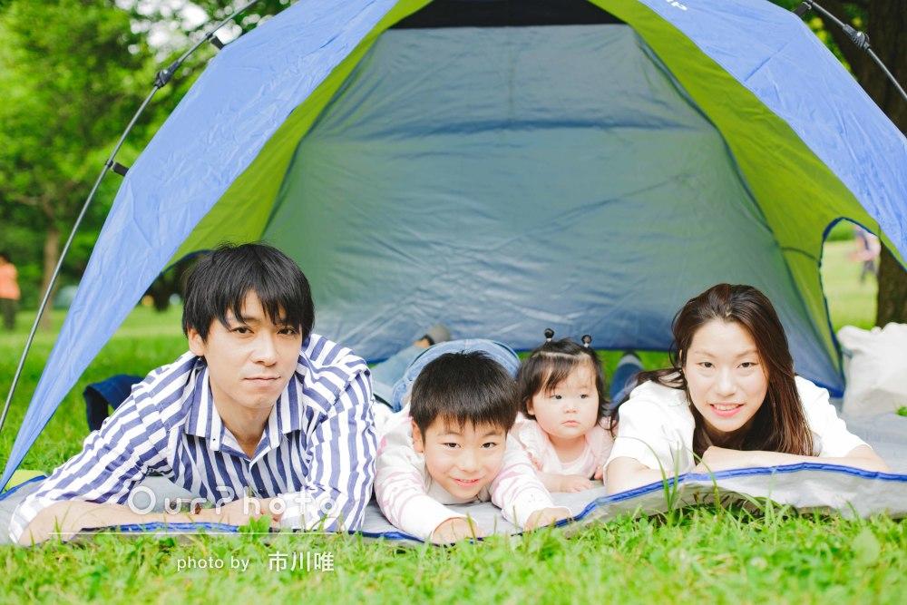 「撮影時のアドバイスも的確で迷いなく」家族写真の撮影