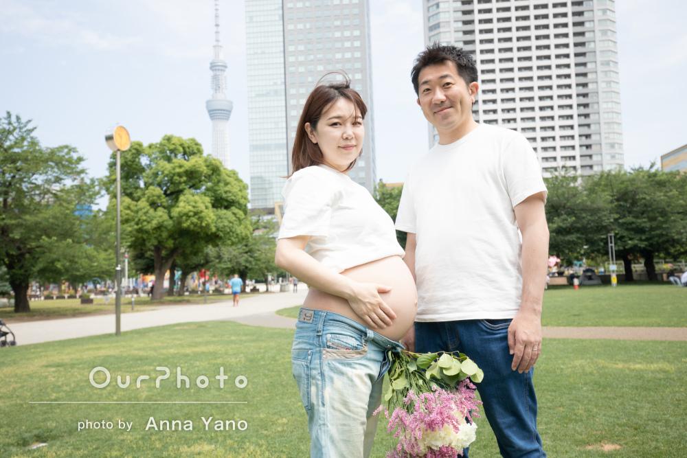 「とても素敵な写真でとてもいい思い出になりました」家族写真の撮影