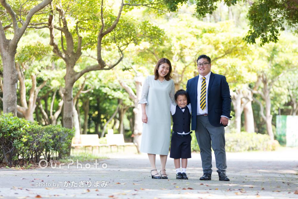 「子どもが楽しんで撮影できるようして頂けてて嬉しかった」家族写真撮影