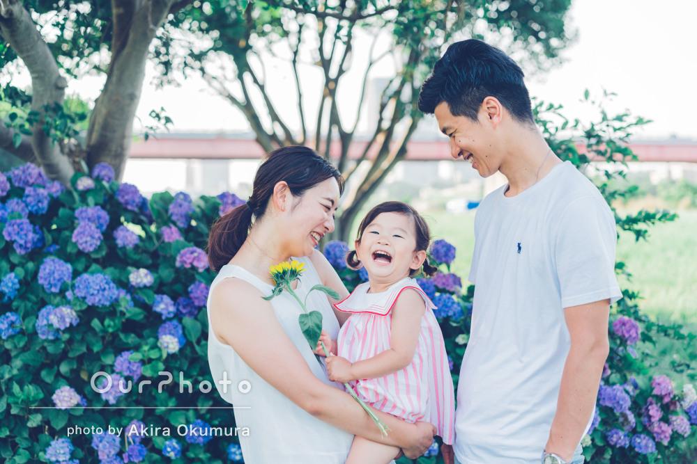 「幸せな家族の瞬間を見事に切り取ってくれた」家族写真の撮影