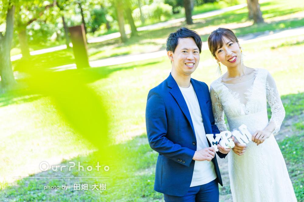 「良い思い出になりました」入籍記念に幸せいっぱいカップルフォトの撮影