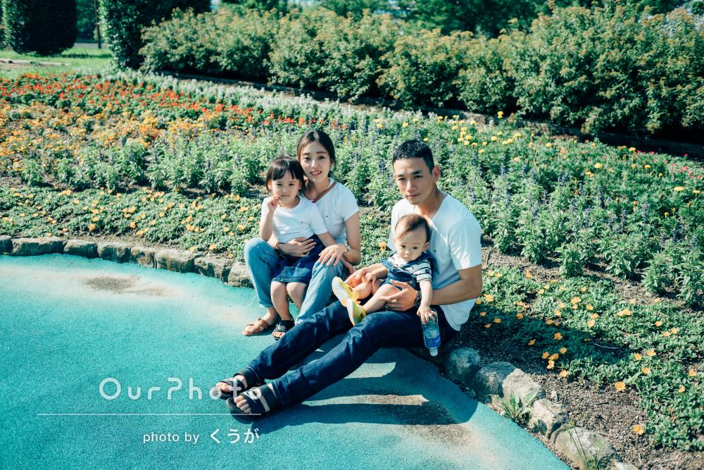 「自然な表情を引き出すのがとても上手くてびっくり」家族写真の撮影