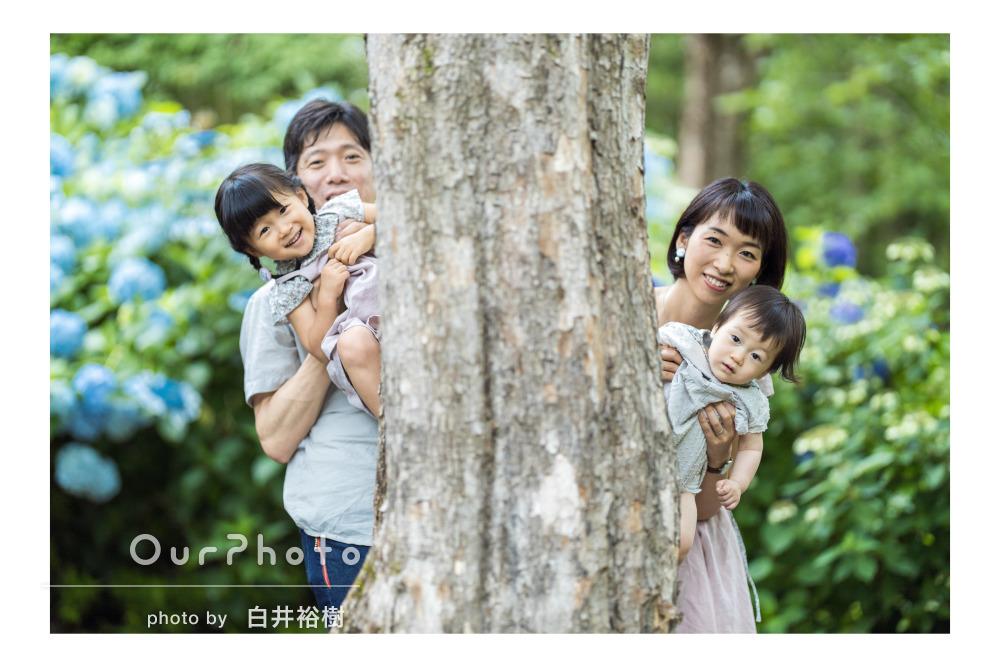 「素敵なお写真ばかりで感動です」お誕生日祝いの家族写真撮影