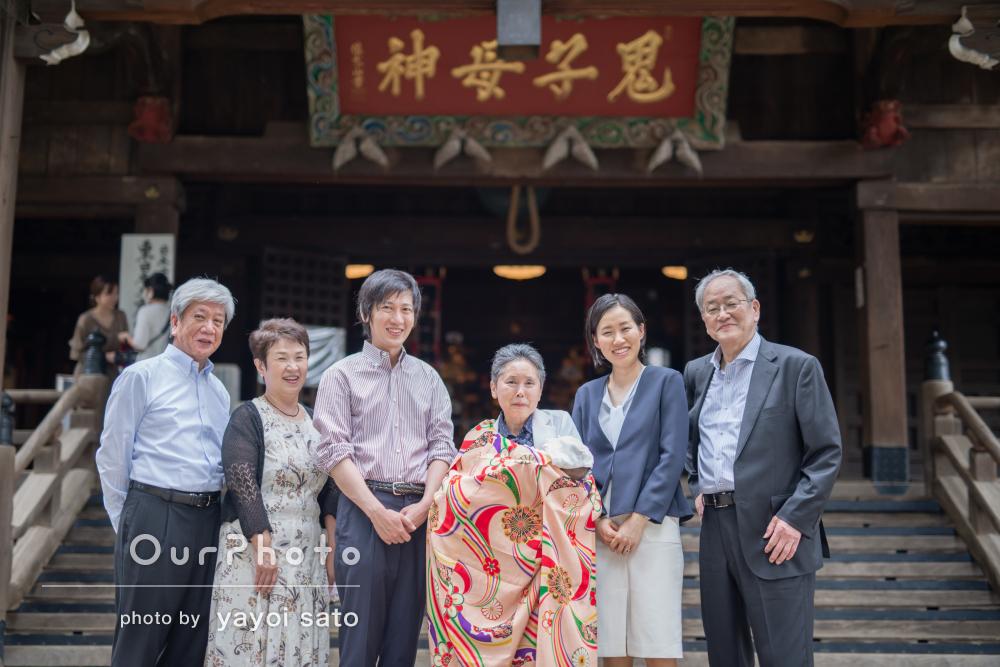 「丁寧な対応かつ素晴らしい写真」家族の笑顔が広がるお宮参りの撮影