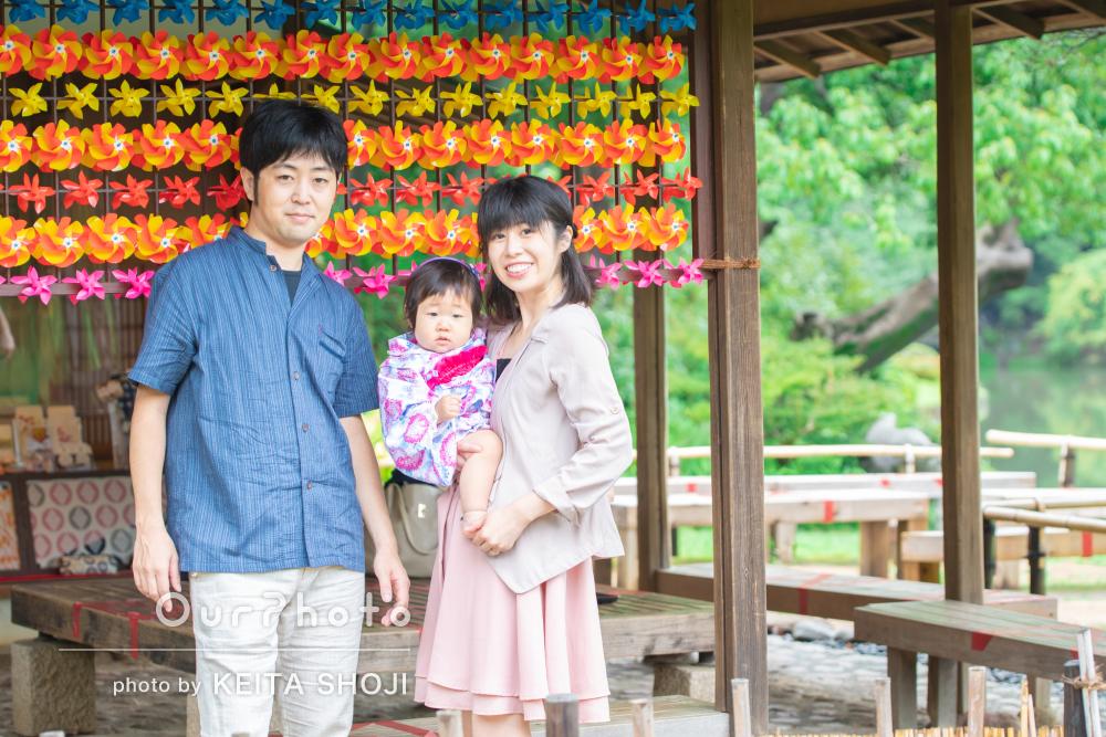 「素晴らしい技術をお持ちのプロカメラマンの方」家族写真の撮影