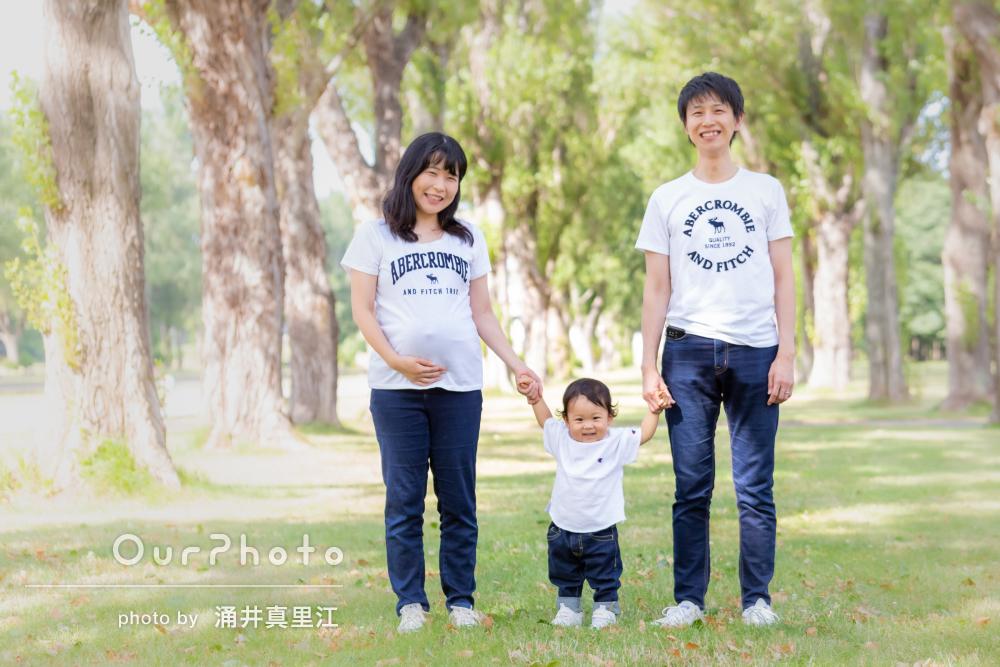 「声がけをしっかりしてくださった」家族で幸せのマタニティフォトの撮影