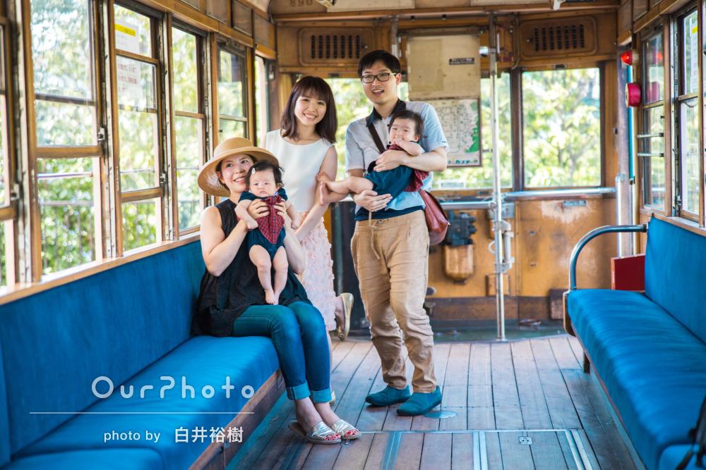 「予約取れなくなるのが心配なくらいおすすめ」爽やかな家族写真の撮影