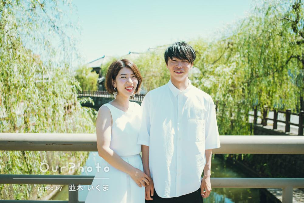 「いつも通りの私たち夫婦を写していただけた」新婚旅行の記念写真撮影