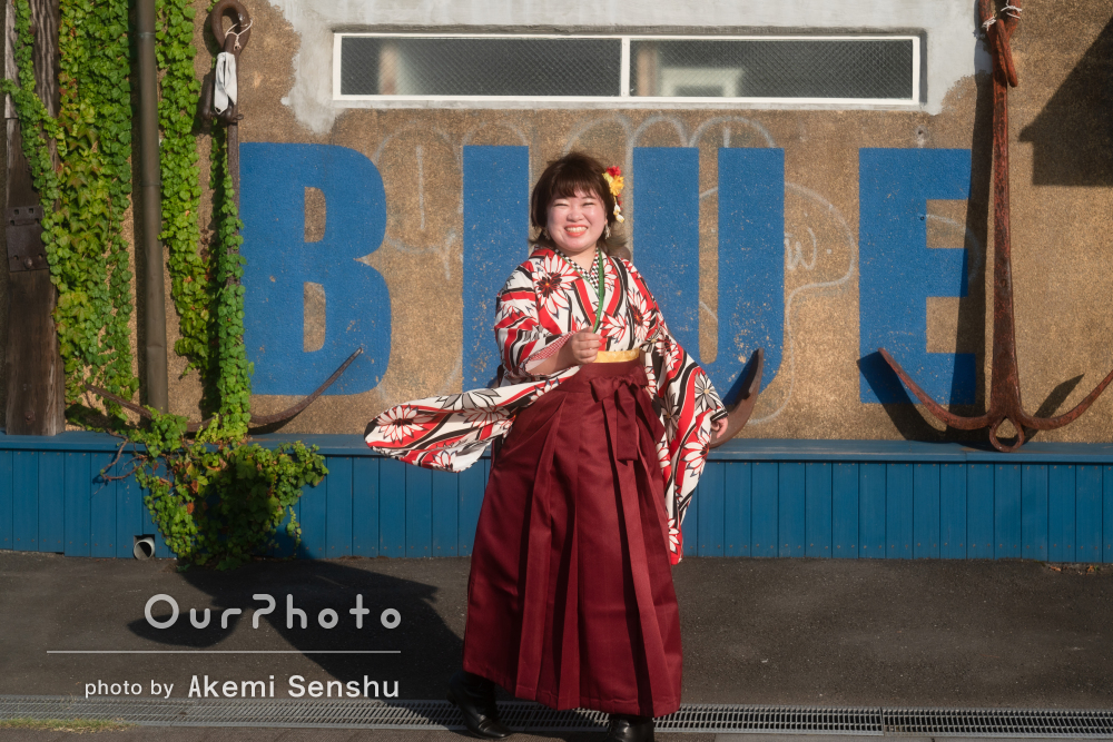 「とても楽しくモデルになった気分でいられ」和装でプロフィール写真撮影