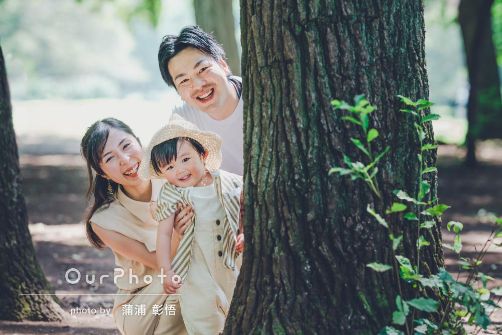 「素敵に撮ってくださり大満足です」大自然の中で輝く家族写真の撮影