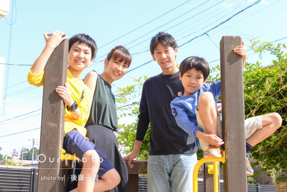 公私共に温かみのある雰囲気に!家族写真&プロフィールフォト撮影