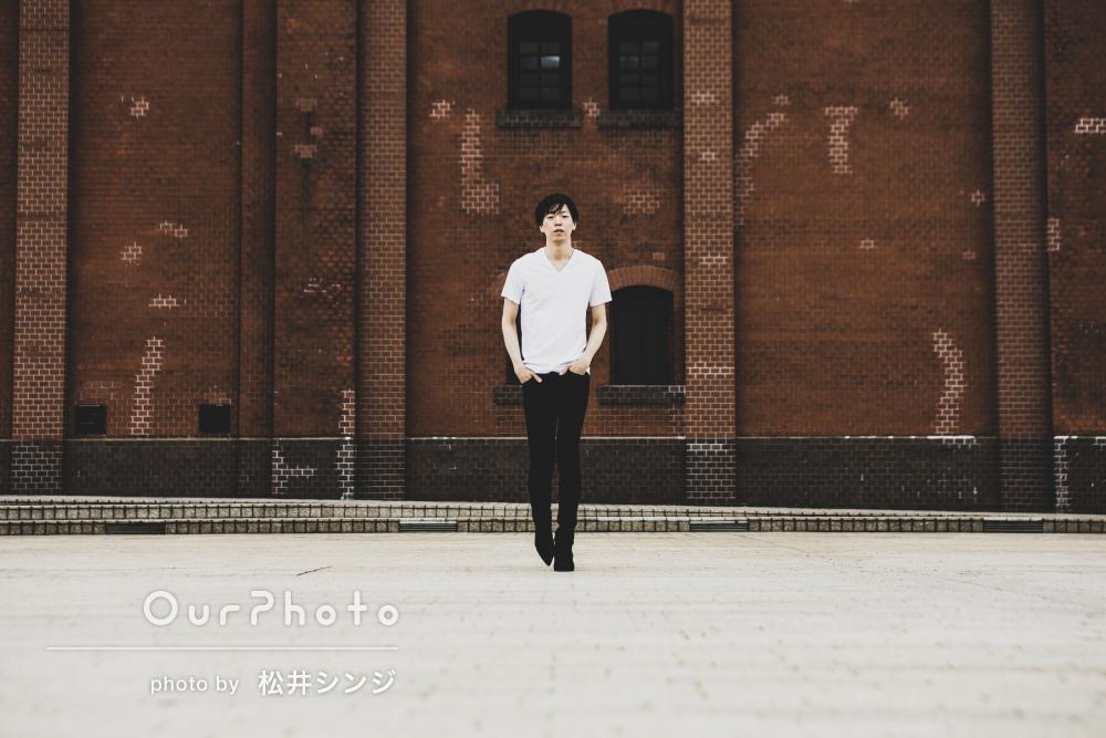 「撮って頂いたお写真とても気にっています」プロフィール写真の撮影