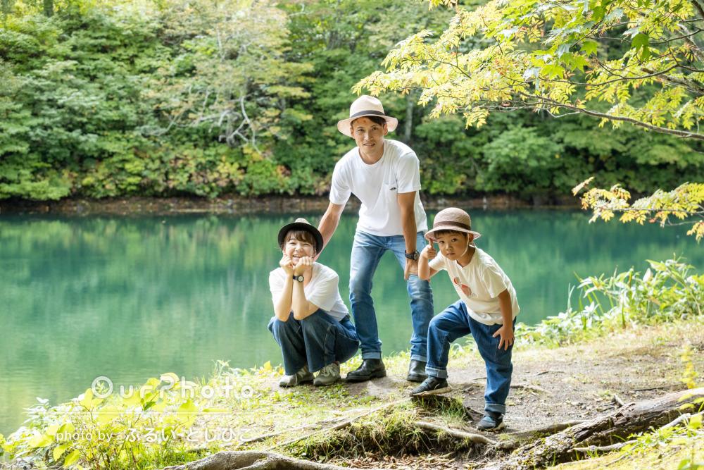「写真もとっても素敵なものばかりで大満足」家族のお出かけ撮影