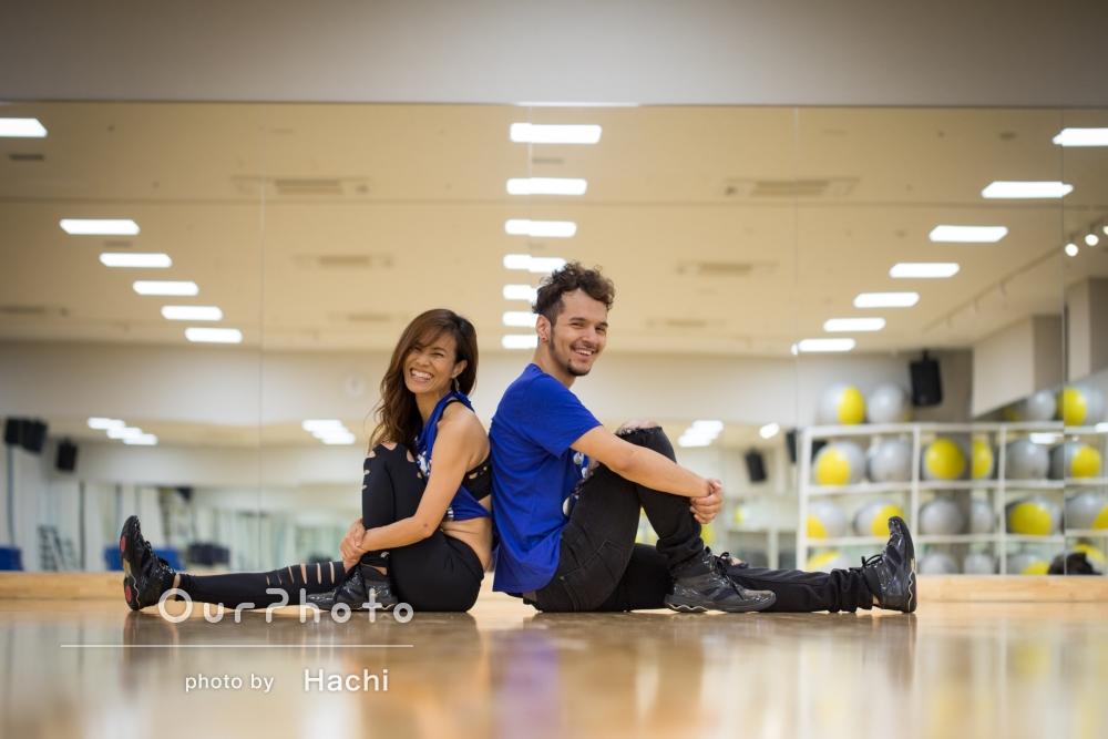「とても素敵な写真で仕事でもたくさん使わせて頂きます!」ダンススタジオでの撮影