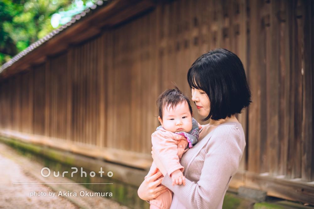 「また機会があればお願いしたい」ママと赤ちゃんで優しい家族写真の撮影