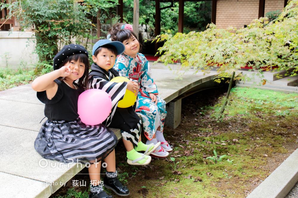 「素敵な写真を撮って頂き大満足」大人数で楽しく七五三と家族写真の撮影