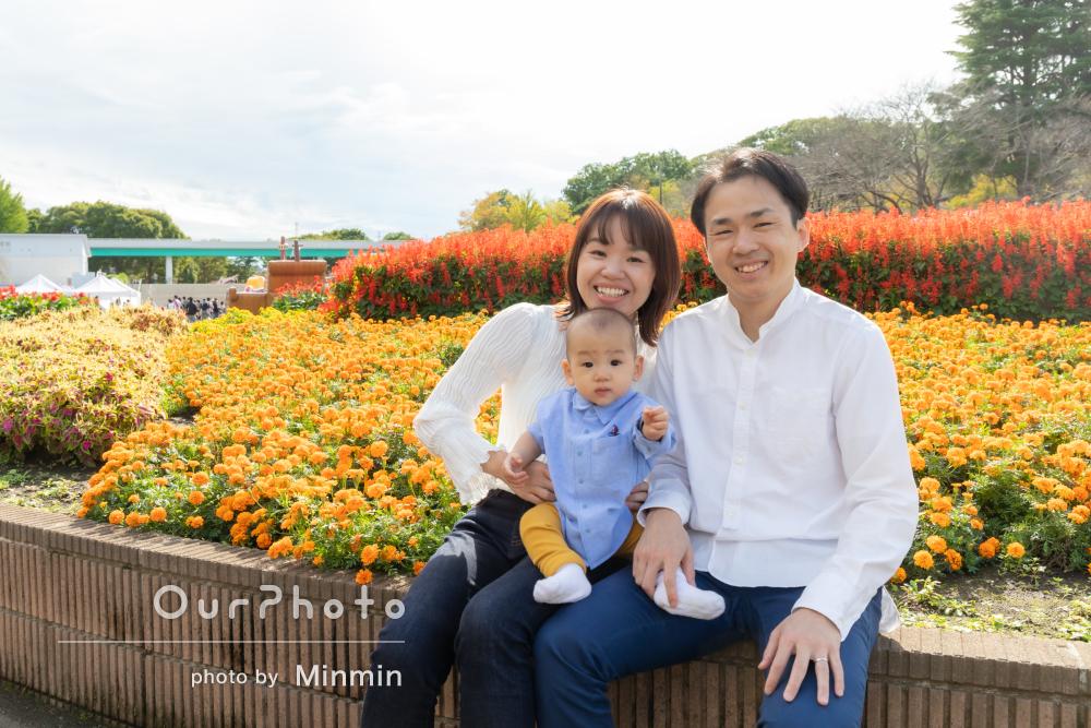 「いろんなポーズ提案をしてくださり」年賀状に使いたい!家族写真の撮影