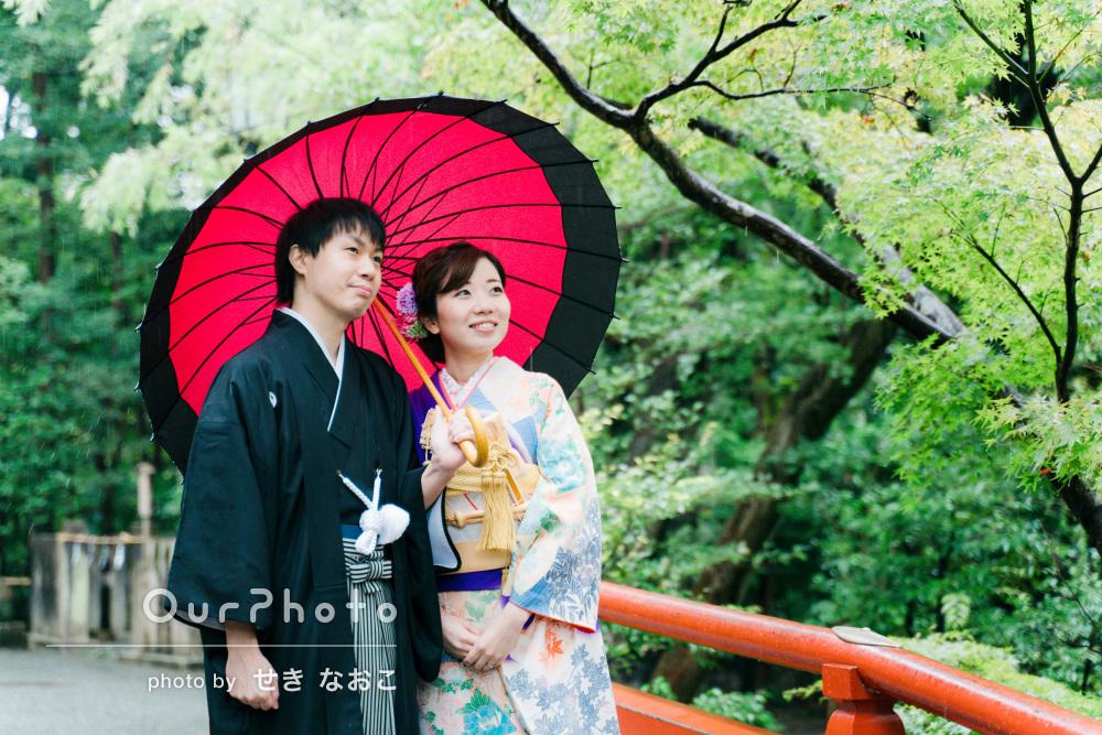 「当日も安心して撮影することが出来ました」和装でカップル写真の撮影