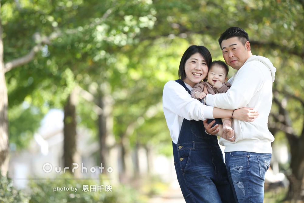 「安心して撮影当日を迎えることができました」家族のお出かけ写真の撮影