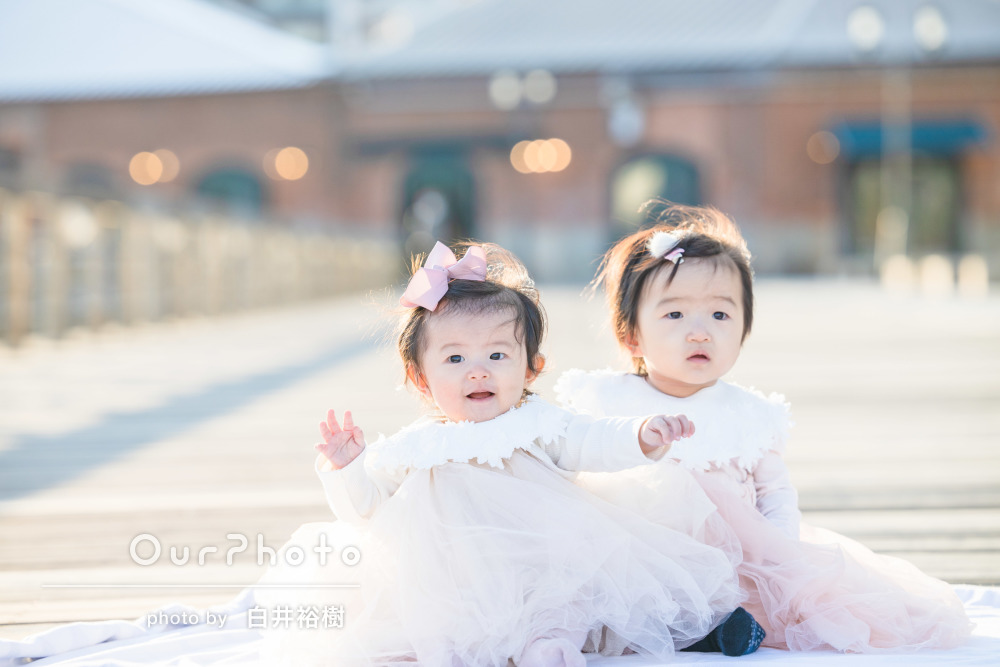 「めーちゃ可愛いく子供撮ってくれる」ドレスアップ友フォトの撮影