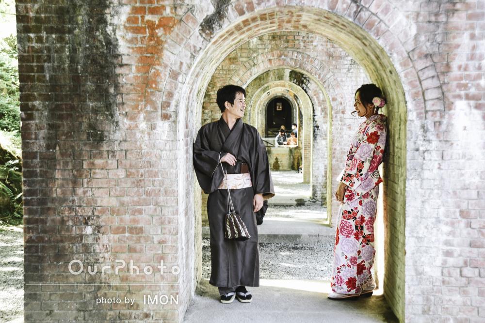 京都の人気スポットで和装デート!幸せいっぱいのカップルフォト撮影