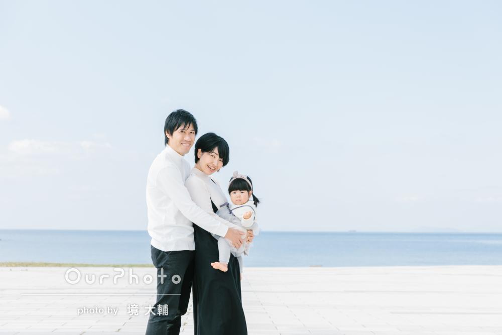 「3回目だからこそ私たちがリラックスして撮影に臨め」家族写真の撮影