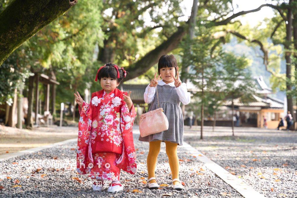 「この時の思い出が鮮明に蘇る」前髪がかわいい日本髪で3歳の七五三撮影