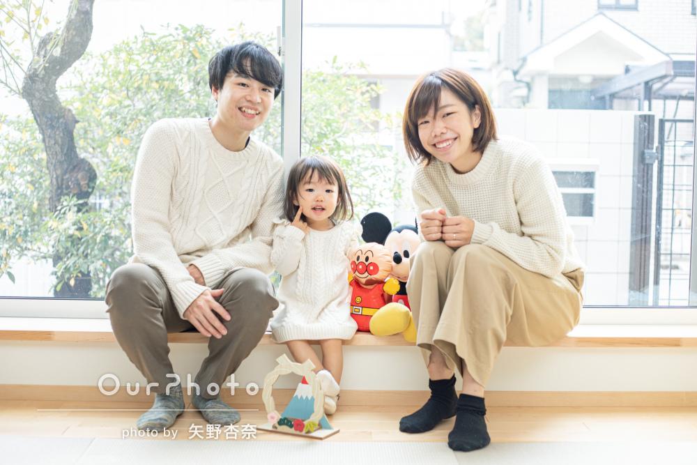 「とても丁寧で楽しい撮影で、子供も喜んでいました」家族写真の撮影