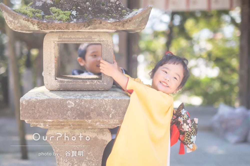 「家族の自然体を見事に写真に収め」可愛すぎる3歳の七五三の撮影