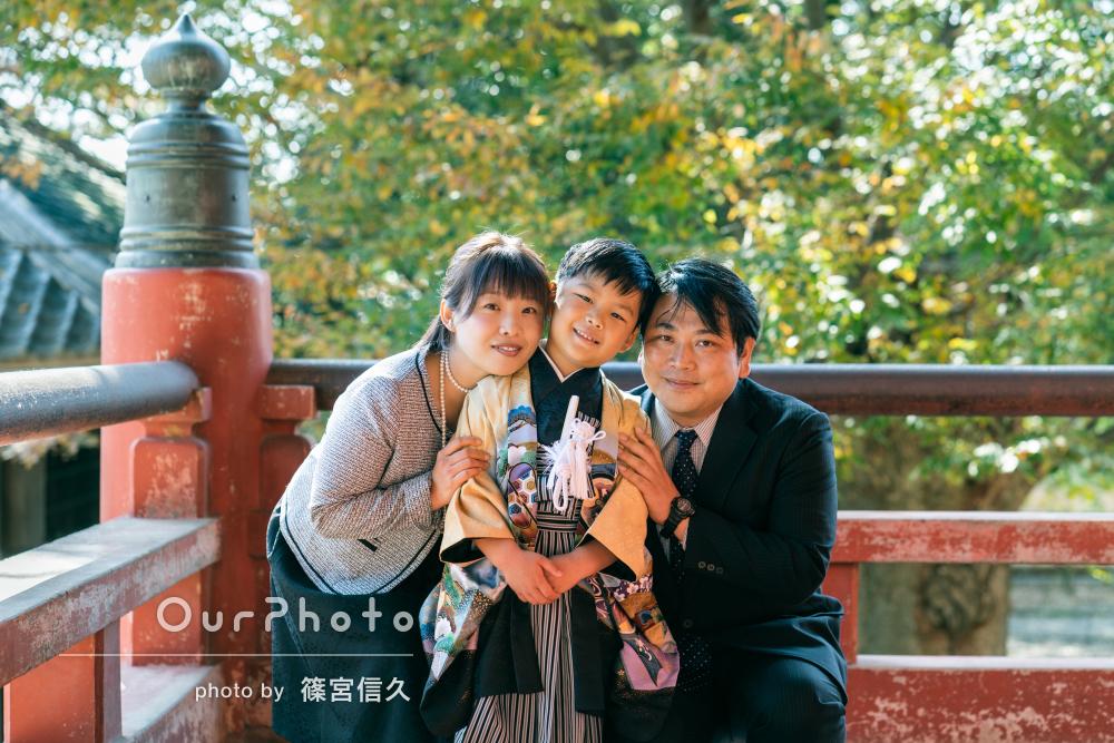 「家族との大切な思い出を最高の形で残していただき」七五三写真の撮影