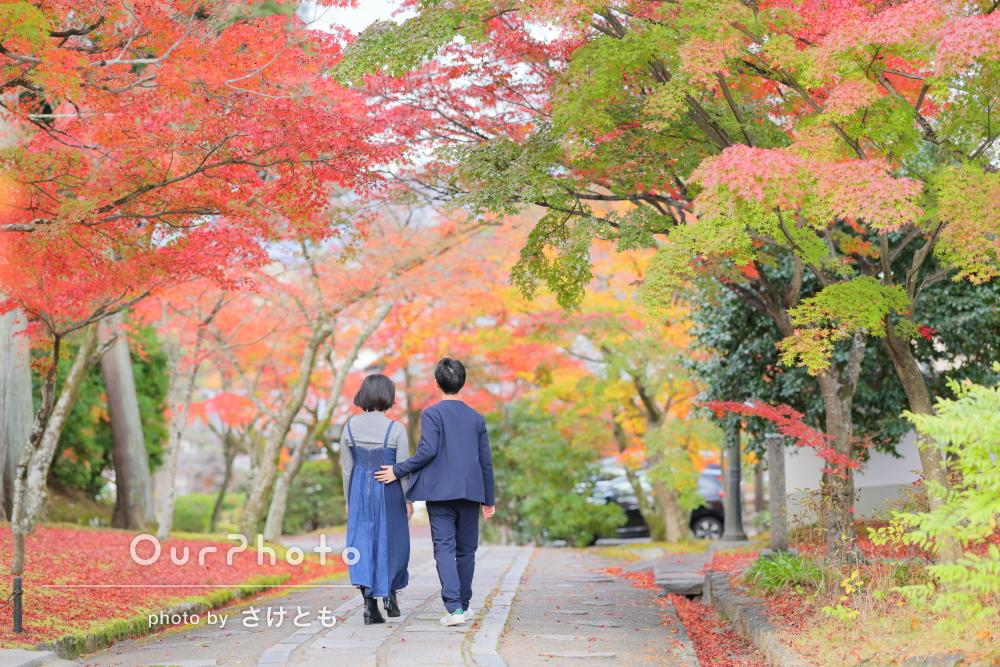 「いろいろ提案して素敵な写真がたくさん」入籍記念のカップルフォト撮影