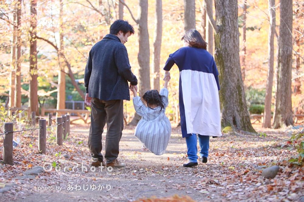 「楽しそうな様子がたくさん」一生の宝物になった秋の家族写真の撮影