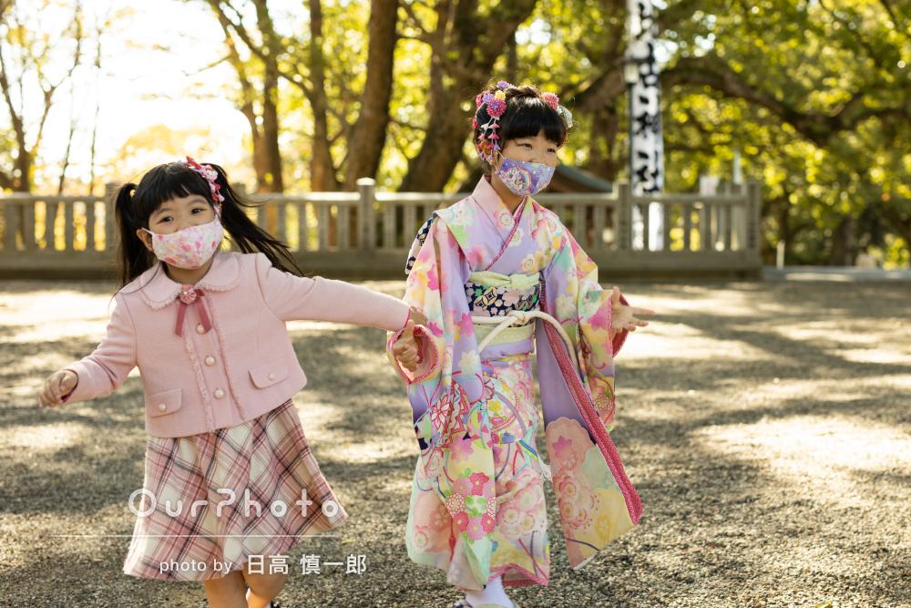 「子供の自然な表情を撮って頂き心より感謝」七五三の撮影
