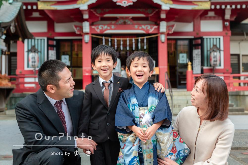 「笑いが聞こえてきそうな良い写真ばかり」元気いっぱい!七五三の撮影