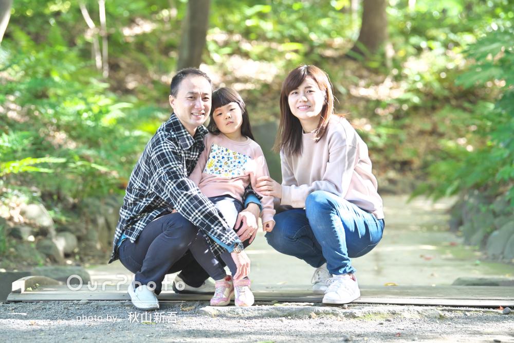 「色々ご提案いただいて出来上がりも満足」リピーター様の家族写真の撮影