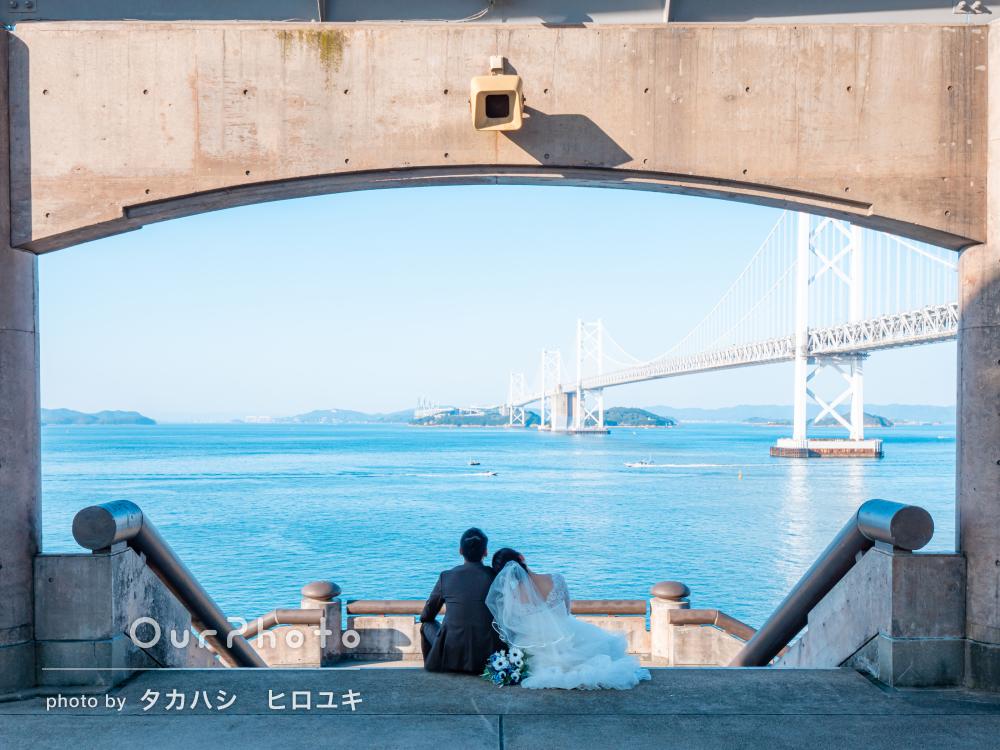 「オリジナリティのある写真も撮ってくださり」美しいカップル写真の撮影