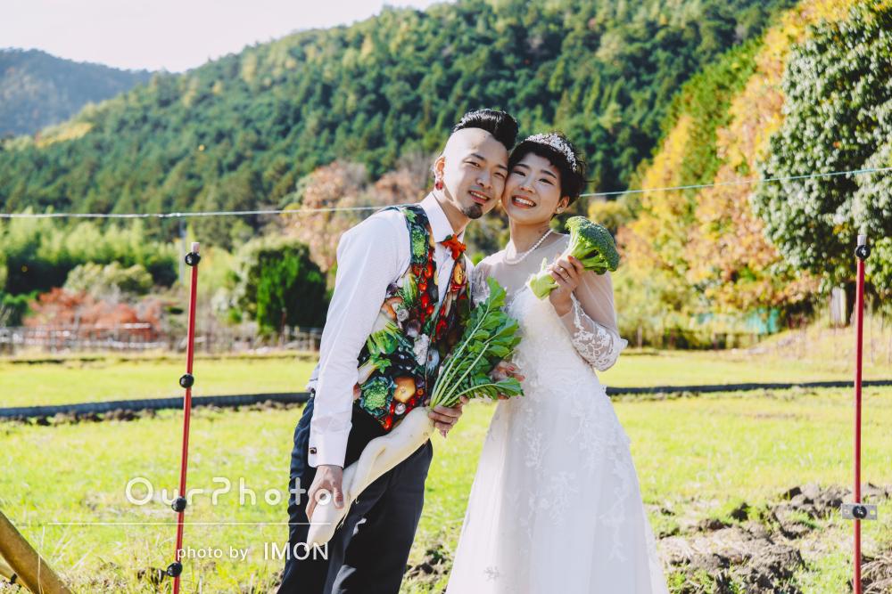 「素敵な体験ができました!」地元の里山で結婚式の前撮り撮影
