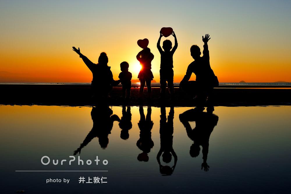 「こんな素敵な写真、自分たちだけでは絶対に撮れません」家族写真の撮影