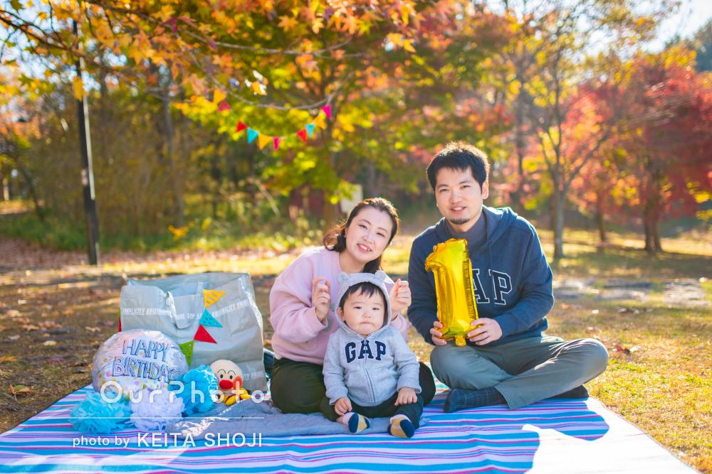 「イメージに合ったシチュエーションで撮影する事ができ」家族写真の撮影