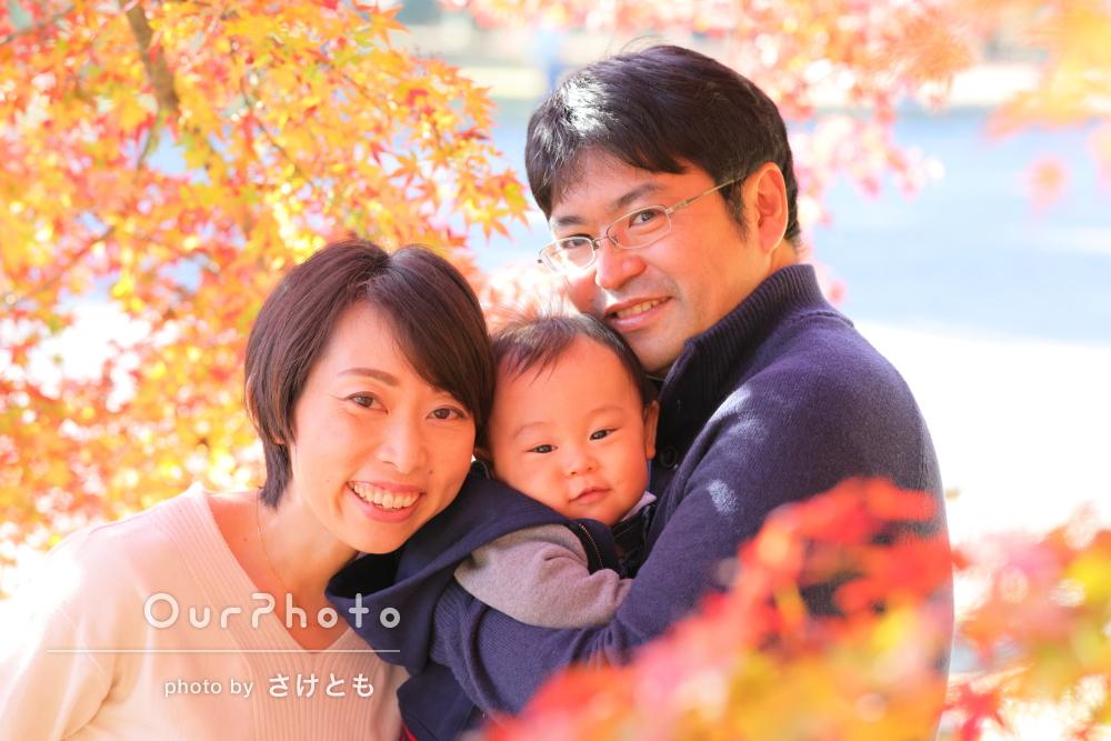 「自分たちでは考えられない構図で素敵な写真」家族写真の撮影